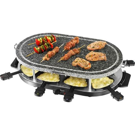 Black Kitchen by Swan Sp17030n Stone Raclette Grill Black Iwoot
