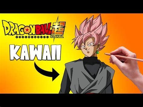 imagenes kawai de goku como dibujar a goku black kawaii