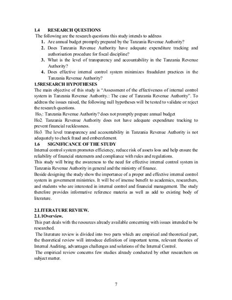 research paper on auditing auditing research exle