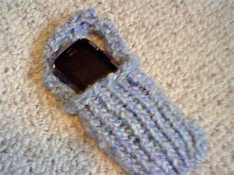 how to knit a cell phone loom knit cell phone holder 183 how to stitch a knit or