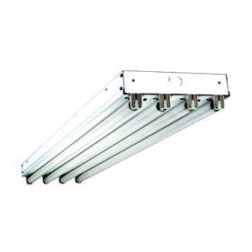 8 Ft T8 Fluorescent Light Fixtures Sparkle Light Mfg 455 Pivot Pan 8 Ft 4 L 59w T8