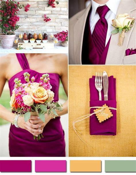 unique color combinations 9 best wedding color images on pinterest sangria wedding
