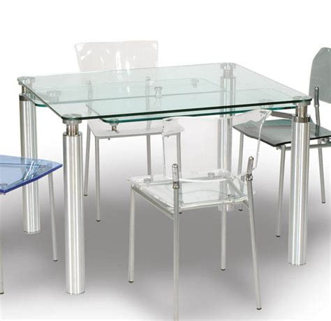 acrylic contemporary dining room set dining room sets