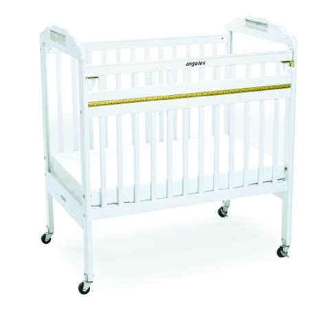 Angeles Drop Gate Crib White Baby Products Angeles Baby Cribs
