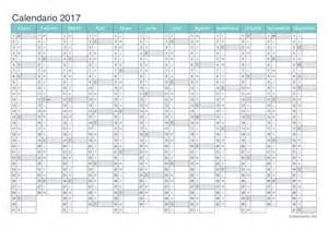 Kalender 2015 Bis 2018 Excel Calendario 2017 Para Imprimir Icalendario Net
