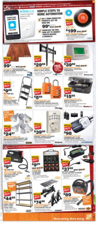 home depot black friday 2014 ad page 4