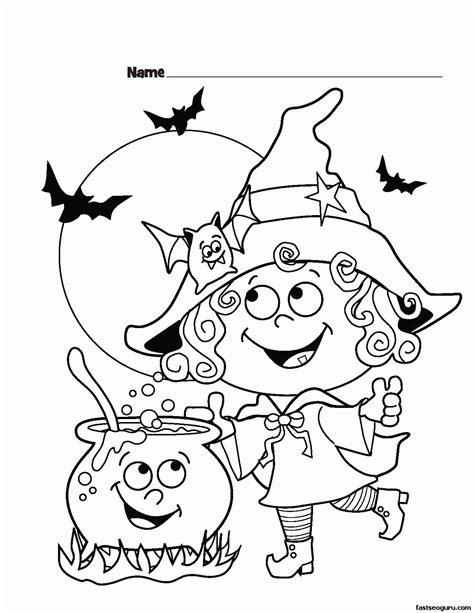 halloween coloring pages preschool halloween coloring pages preschoolers coloring home