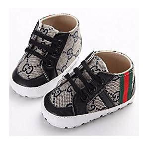 New Arrival S736bl Prewalker Black new arrival fashion baby sneaker shoes