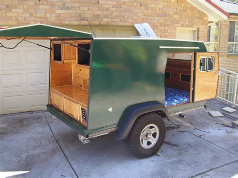 home built trailer plans home built expedition trailer autos post