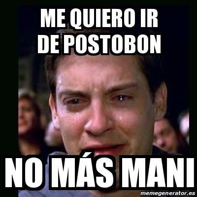 meme crying peter parker no me quiero ir a la c 225 rcel 18581910 meme crying peter parker me quiero ir de postobon no m 225 s mani 25667918