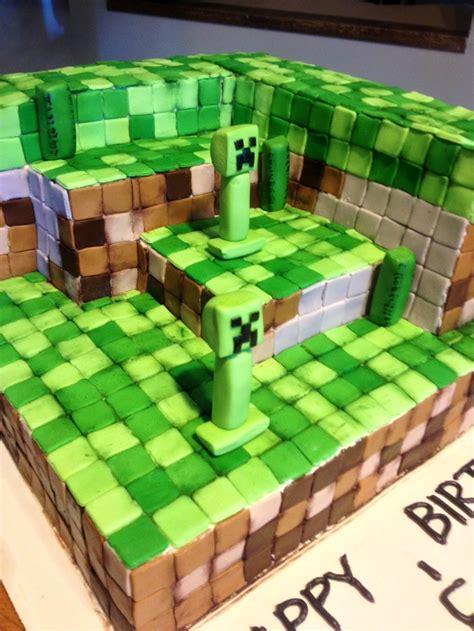 images  minecraft birthday cakes  pinterest happy birth day  boys  portal