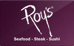 Roys Gift Cards - buy roy s hawaiian fusion gift cards raise