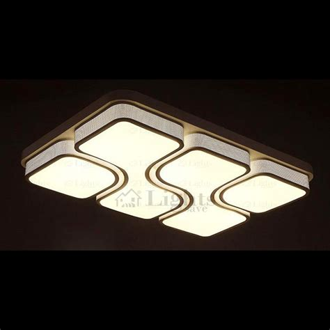 Led Integrated Lighting Unique Rectangle Flush Mount Rectangular Ceiling Lights