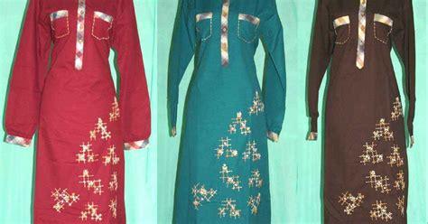 Baju Gamis Ethica Kagumi 14 Merah harga baju gamis ethica gamis murni