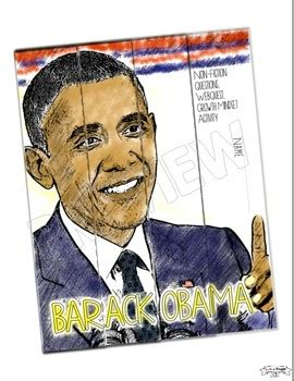 Barack Obama Biography Black History | barack obama black history month writing activity growth