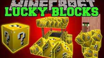 Minecraft lucky blocks lucky villagers wishing wells lucky potions