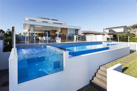 Glas Pool by Pool Spa Glass Side Oceanbeach