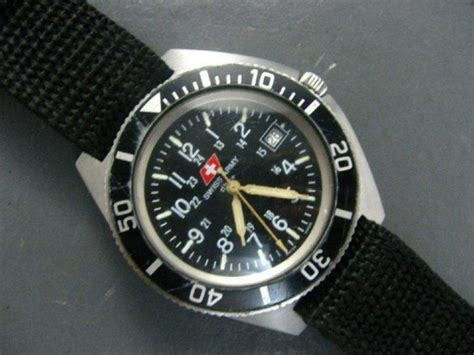 Swiss Army Dhc A marathon navigator with maraglo instead of trit