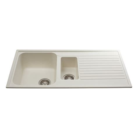 Asterite Kitchen Sink by Cda As2cm Inset Asterite 1 5 Bowl Sink