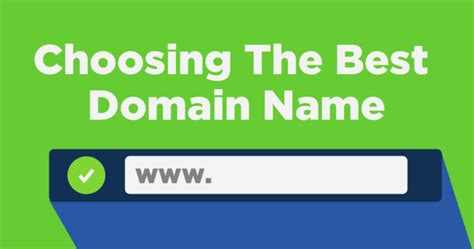 choose   website domain  search engine