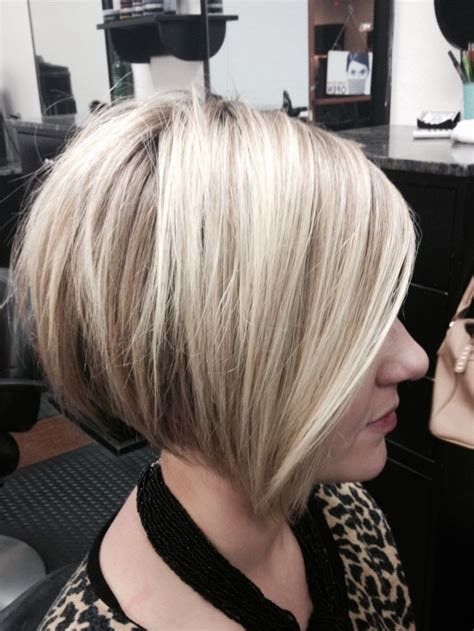 2015 hair color for women 16 chic stacked bob haircuts short hairstyle ideas for