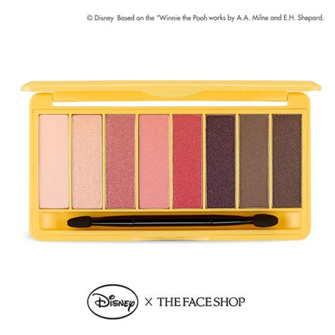 The Shop Disney Mickey Mono Pop Eyeshadow Palette everything in the ridiculously disney x thefaceshop