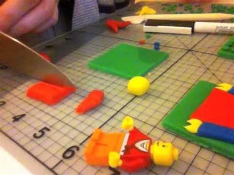 lego gumpaste tutorial how to make lego from fondant part 3 youtube