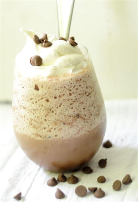 frozen hot chocolate ovaltine skinny frozen hot chocolate recipe diaries