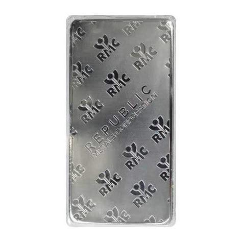 10 Oz Silver Bar Worth - 10 oz silver rmc bar best prices free shipping happy