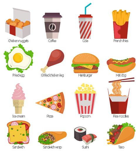 clipart food design elements fast food design elements food