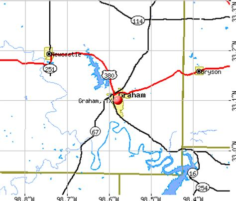 map of graham texas graham texas tx 76450 profile population maps real estate averages homes statistics