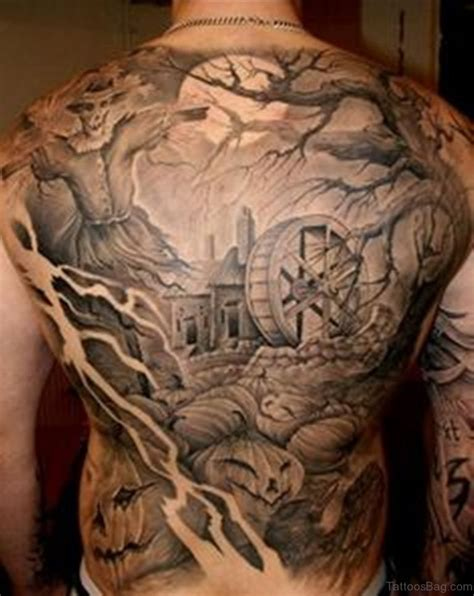 horror tattoo 78 creeptastic horror tattoos for back
