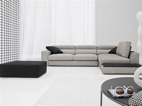 offerte divani angolari in tessuto divano angolare in tessuto con poggiatesta reclinabile e