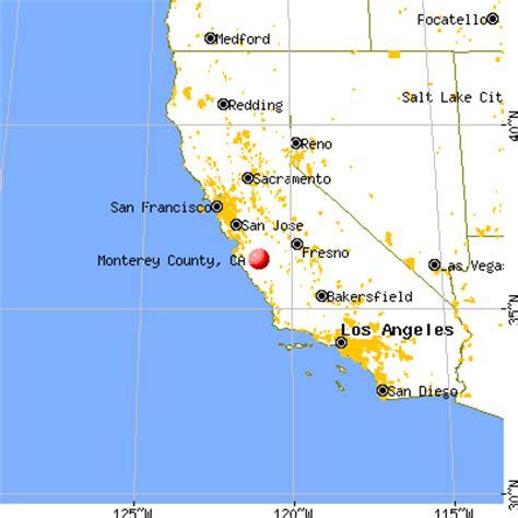 california map monterey county monterey county california detailed profile houses
