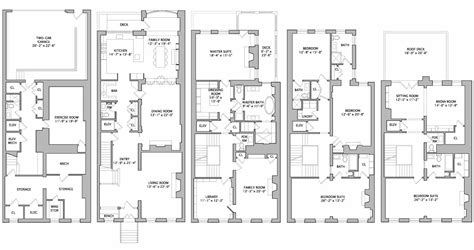 townhouse floor plan luxury showbiz exec steve burke buys in l a lists in p a and holds in n y c variety