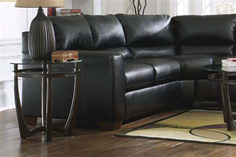 durablend leather sectional onyx durablend leather sectional at gardner white