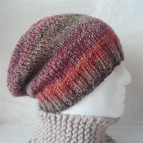 slouchy hat knitting pattern for beginners knitting pattern charleymans slouch beanie easy knit