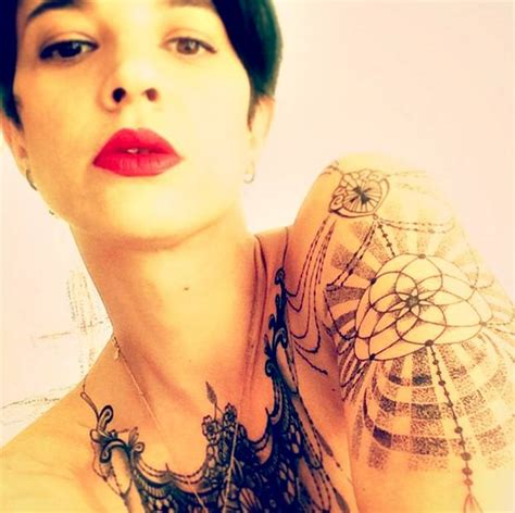 asia argento tattoos the gallery for gt asia argento tattoos