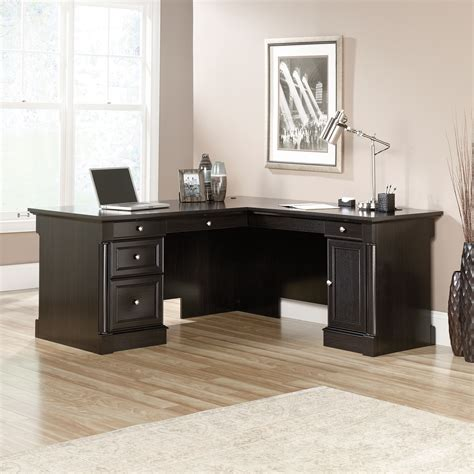 l shaped desk palladia l shaped desk 417714 sauder