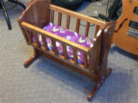 Baby Doll Crib Plans by Baby Doll Cradle By Brat700 Lumberjocks