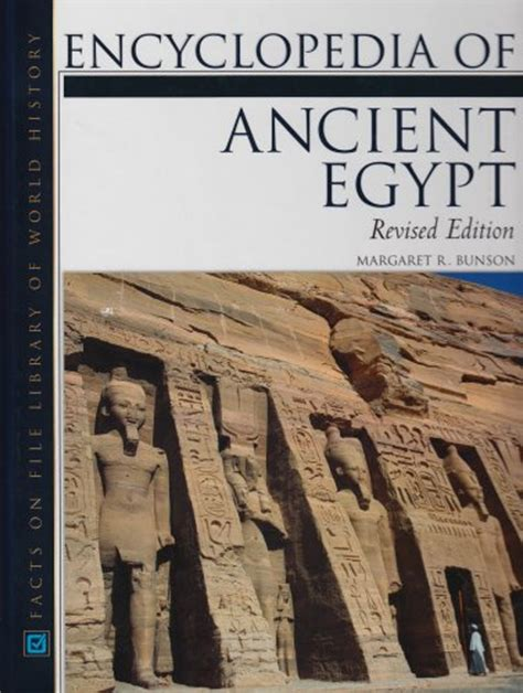 Ancient Egypt New World Encyclopedia | facts on file library of world history series new and