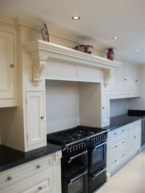 Kitchen Mantel Ideas | traditional kitchen mantel