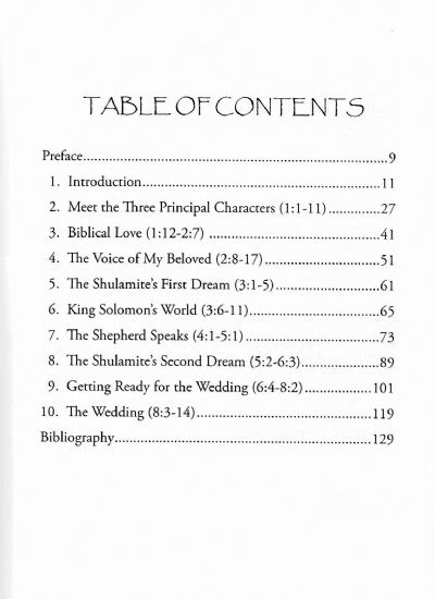 SermonAudio.com - Song of Solomon Expository Notes & Outlines