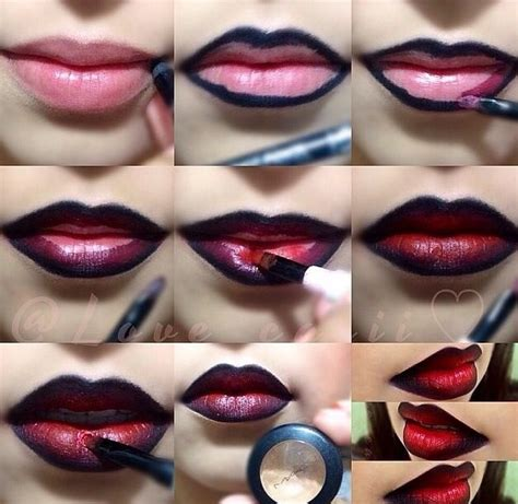 Video Tutorial Lipstik Ombre | the 25 best ombre lips tutorial ideas on pinterest