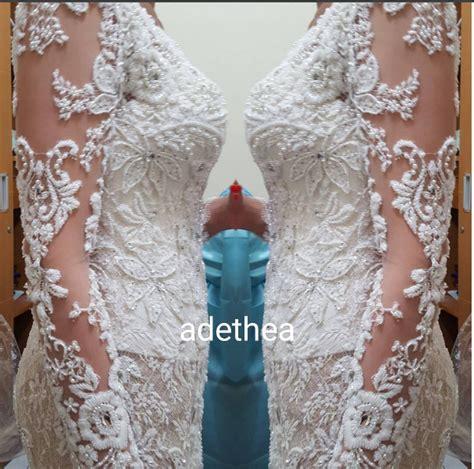 Bridal Dress Kebaya Pengantin Ekor Gown Wedding Prewed Prawed Modern jahit wedding gown kebaya dimana to be