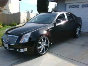 Cadillac Cts On 22s Leebo73 2009 Cadillac Cts Specs Photos Modification Info