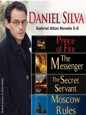 Moscow Gabriel Allon by Prince Of The Messenger The Secret Servant
