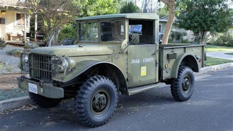 dodge  army truck  sale  bat auctions sold    february   lot