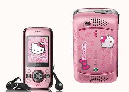 hello kitty themes for sony xperia sony ericsson w395 hello kitty handset lands in hong kong