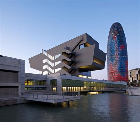 building new home design center forum barcelona design museum spain building e architect